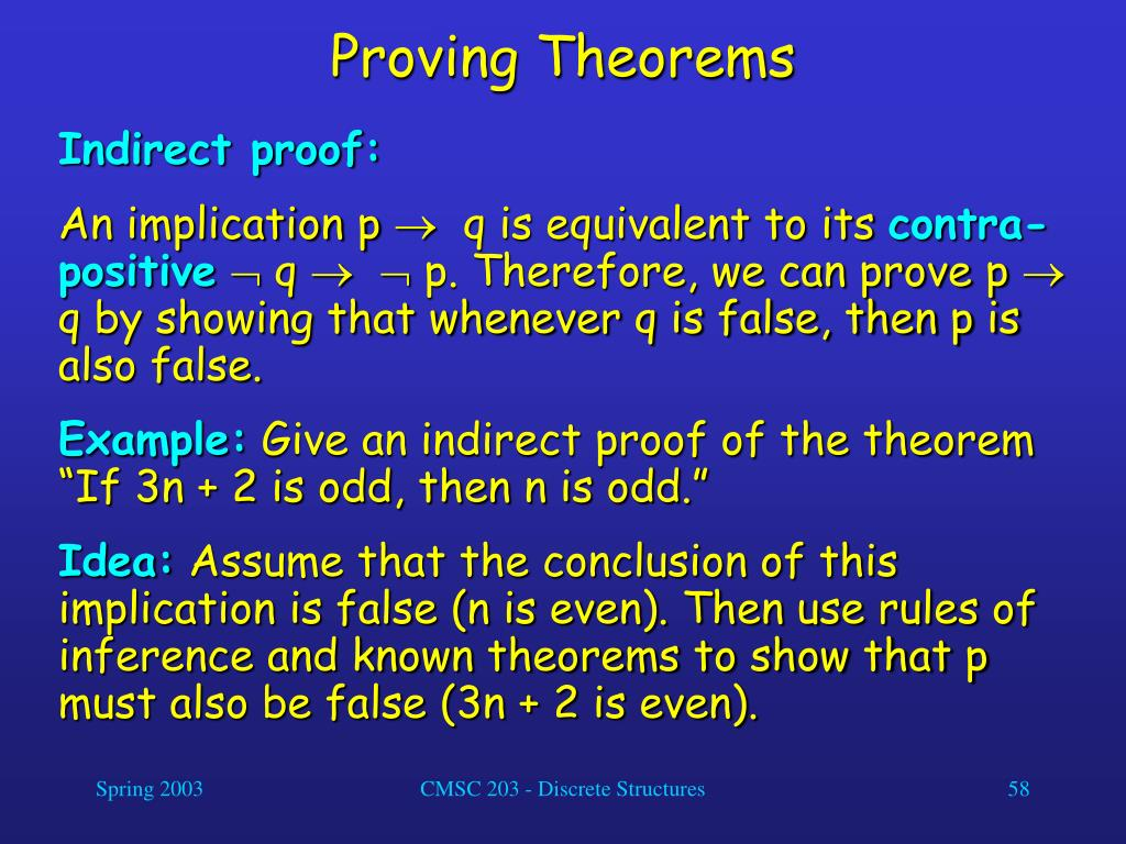 Proving Theorems