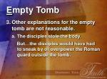e mpty tomb12