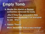 e mpty tomb17