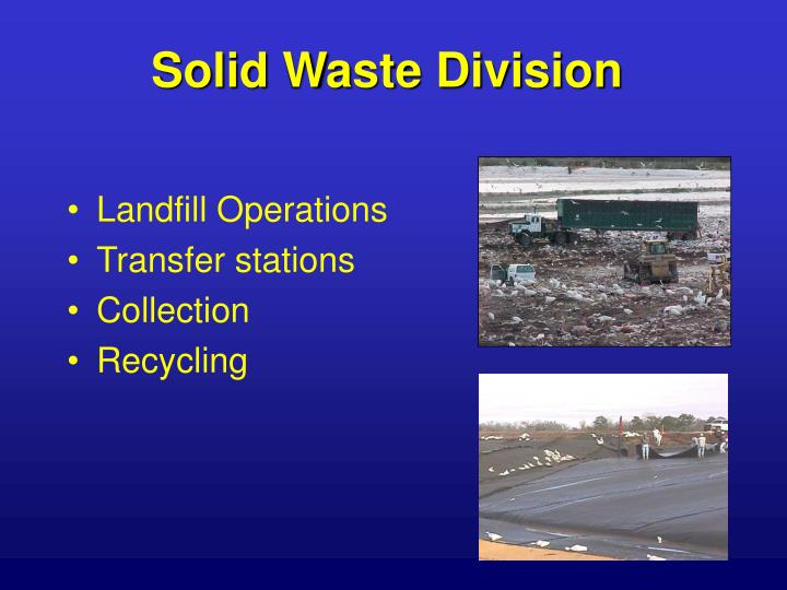 Solid Waste Division