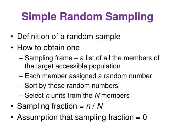 PPT - Sampling PowerPoint Presentation - ID:268365