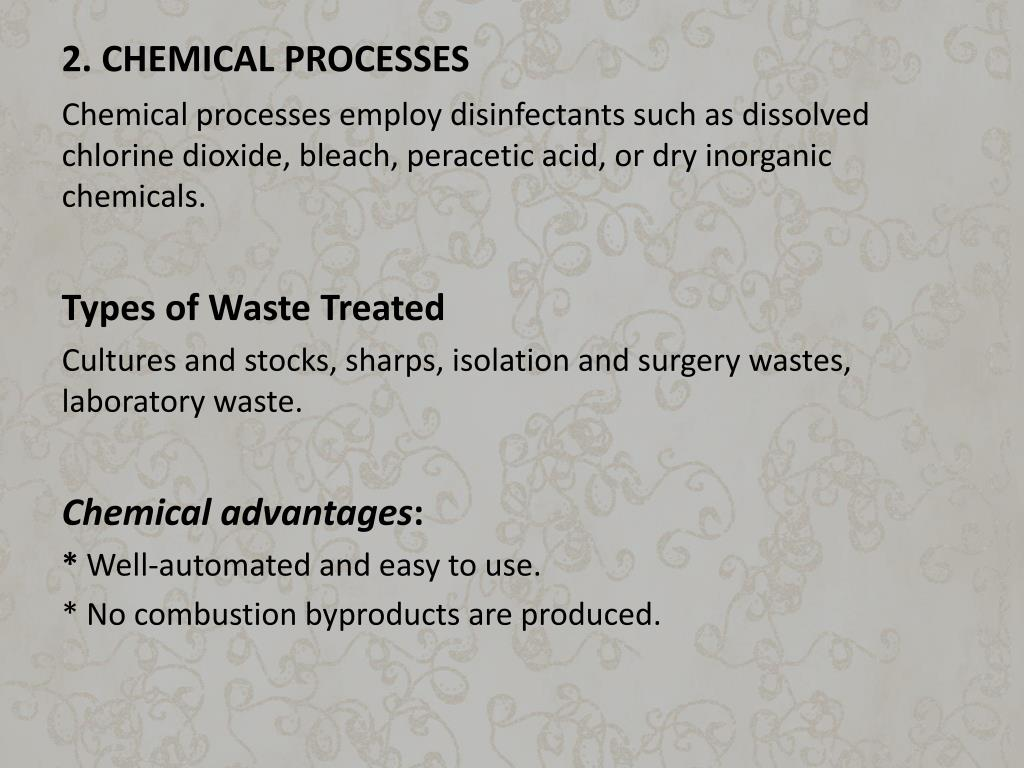 2. CHEMICAL PROCESSES