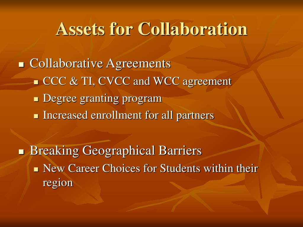 Assets for Collaboration