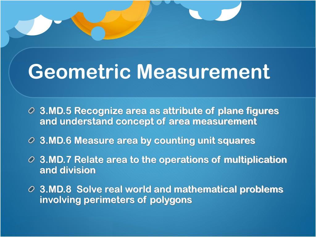 Geometric Measurement