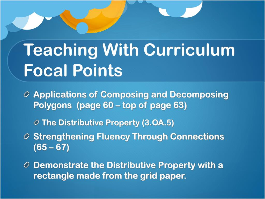 Teaching With Curriculum Focal Points