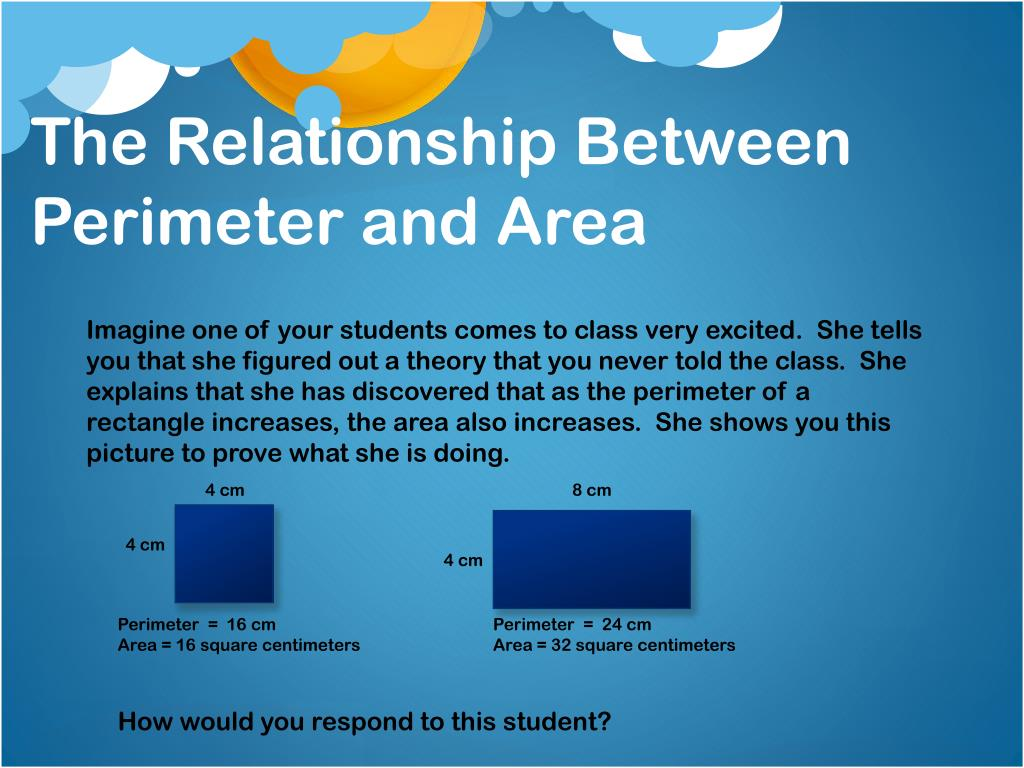 The Relationship Between Perimeter and Area
