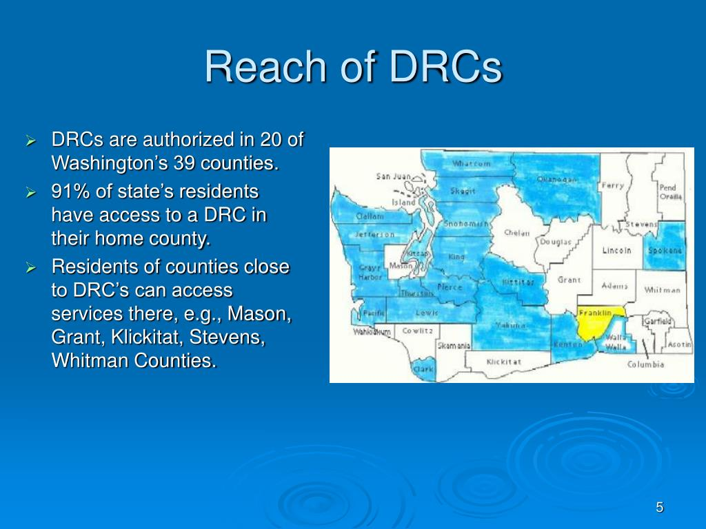 Reach of DRCs