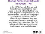 thomas kilmann conflict mode instrument tki