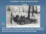 location iowa countryside 1908