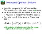 compound operator division