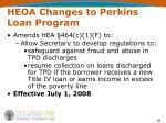 heoa changes to perkins loan program26