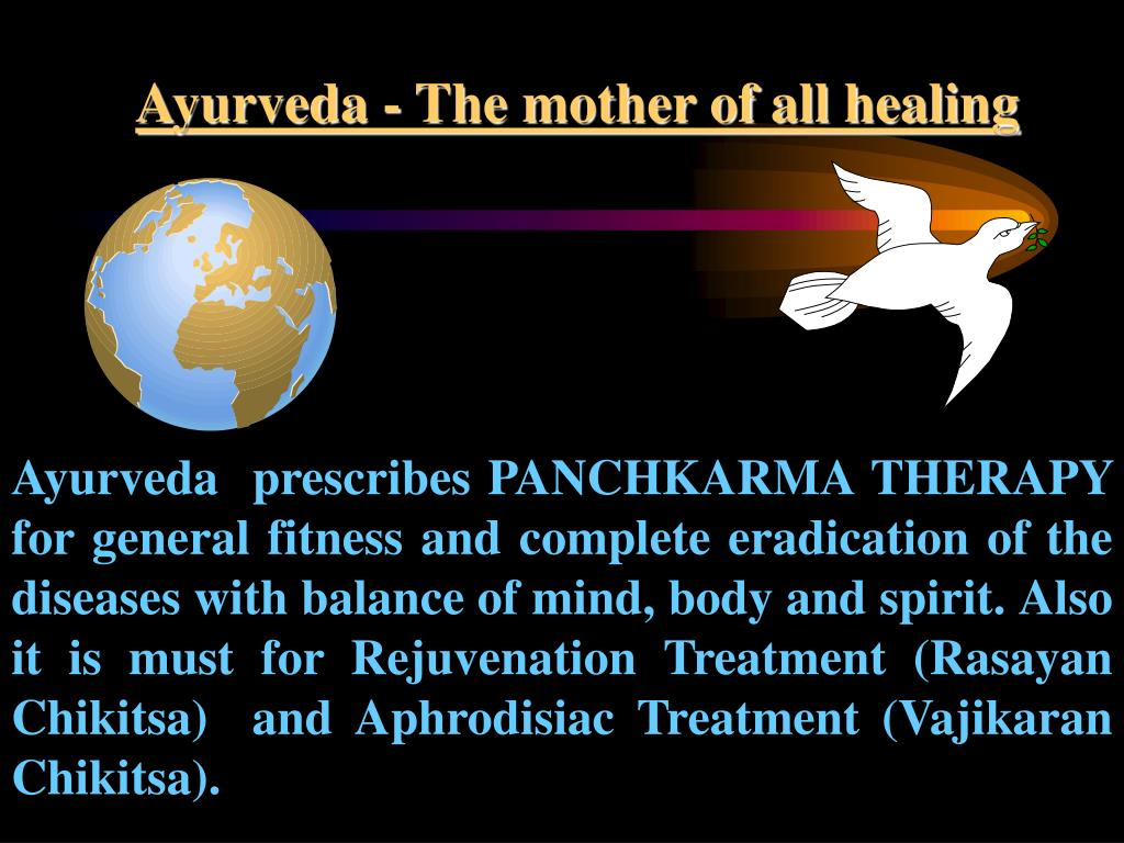 Ayurveda - The mother of all healing