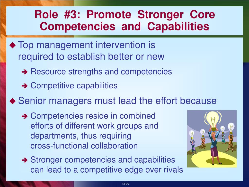 Role  #3:  Promote  Stronger  Core