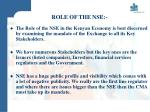 role of the nse