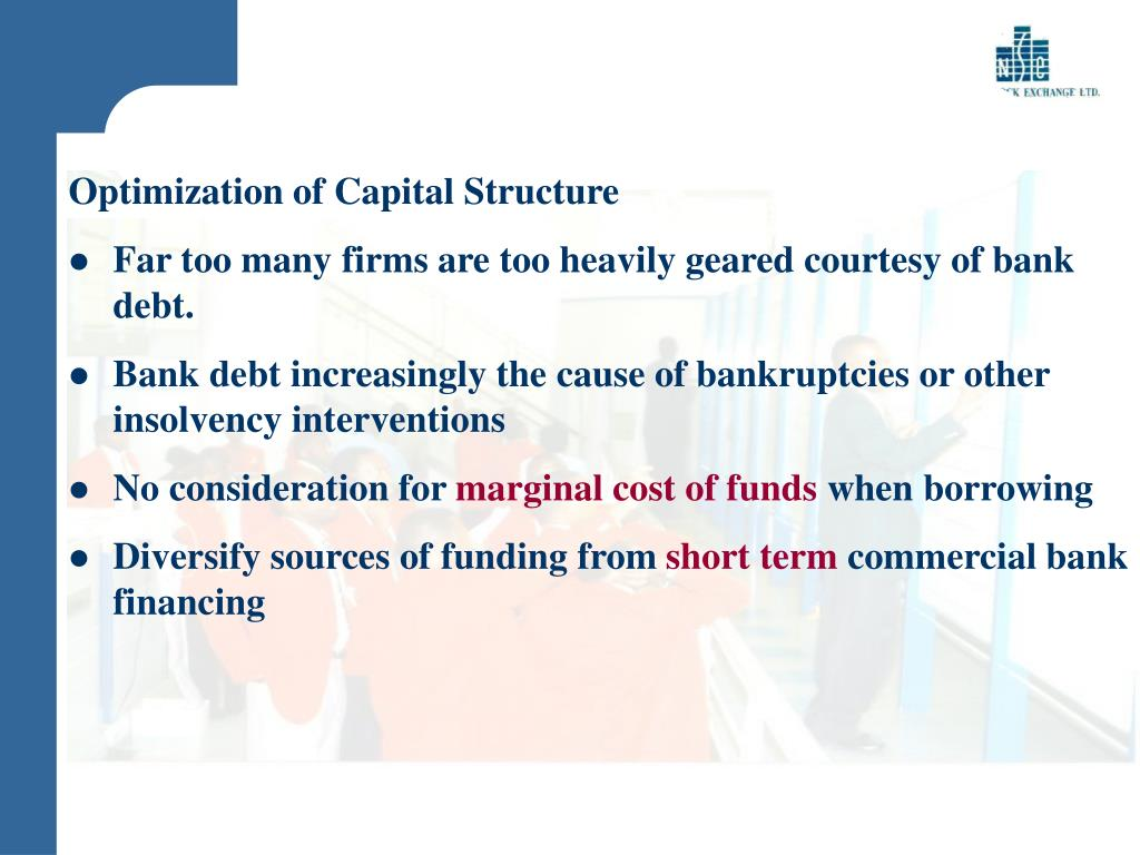Optimization of Capital Structure