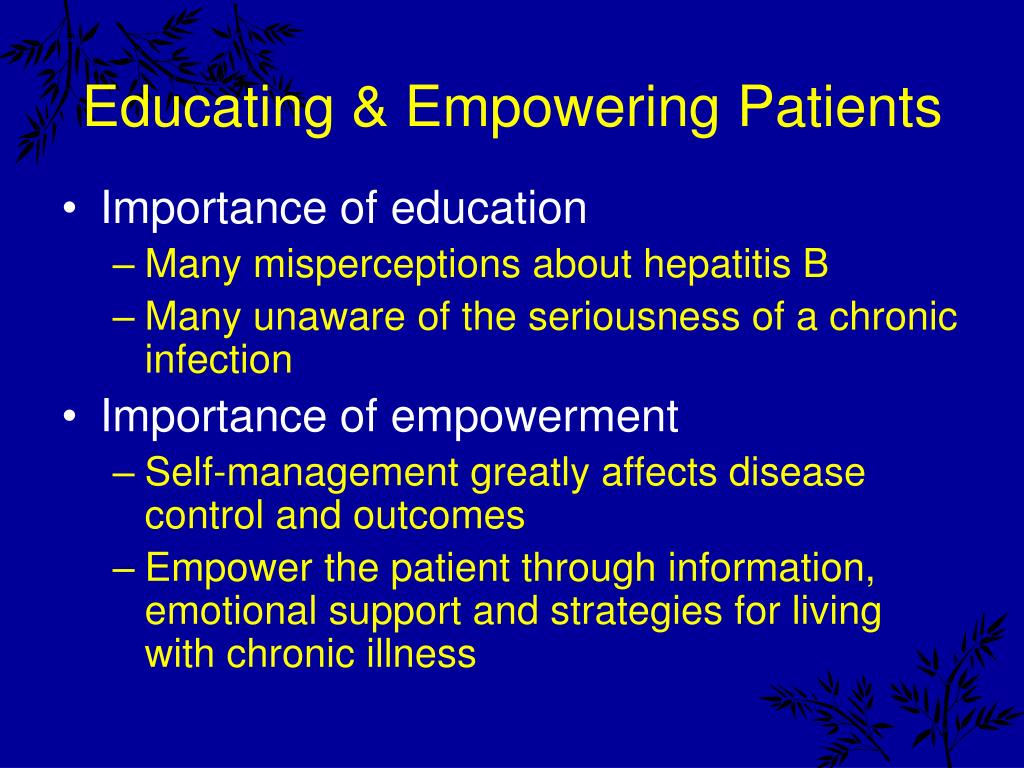 Educating & Empowering Patients