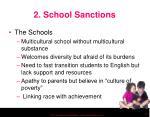 2 school sanctions