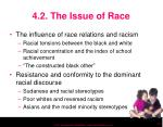 4 2 the issue of race