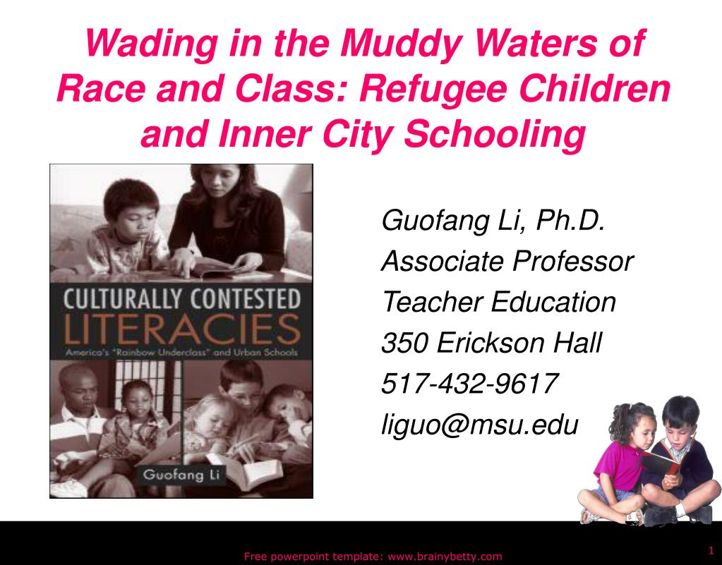 wading in the muddy waters of race and class refugee children and inner city schooling