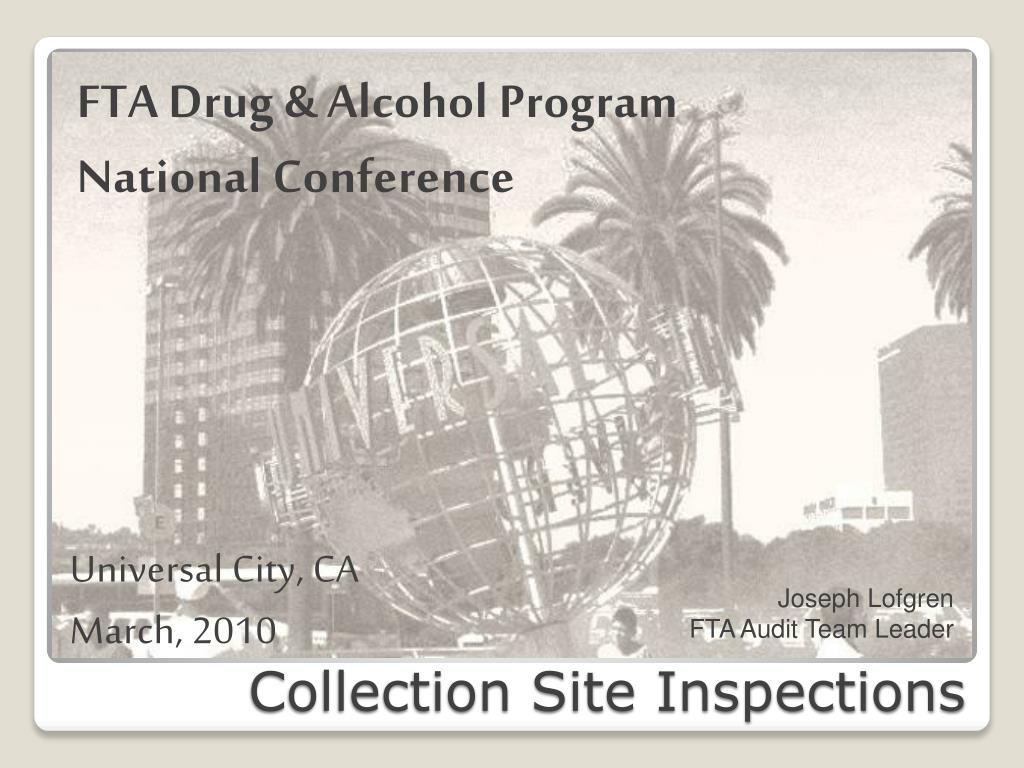 collection site inspections