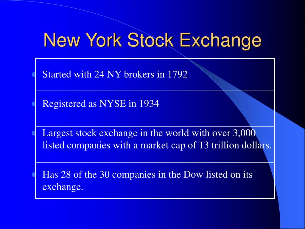 new york stock exchange l.