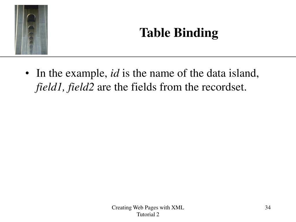 Table Binding
