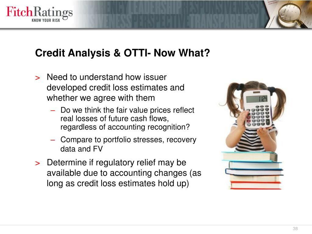 Credit Analysis & OTTI- Now What?