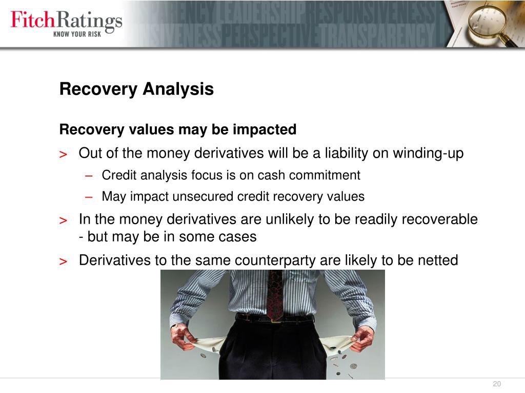 Recovery Analysis