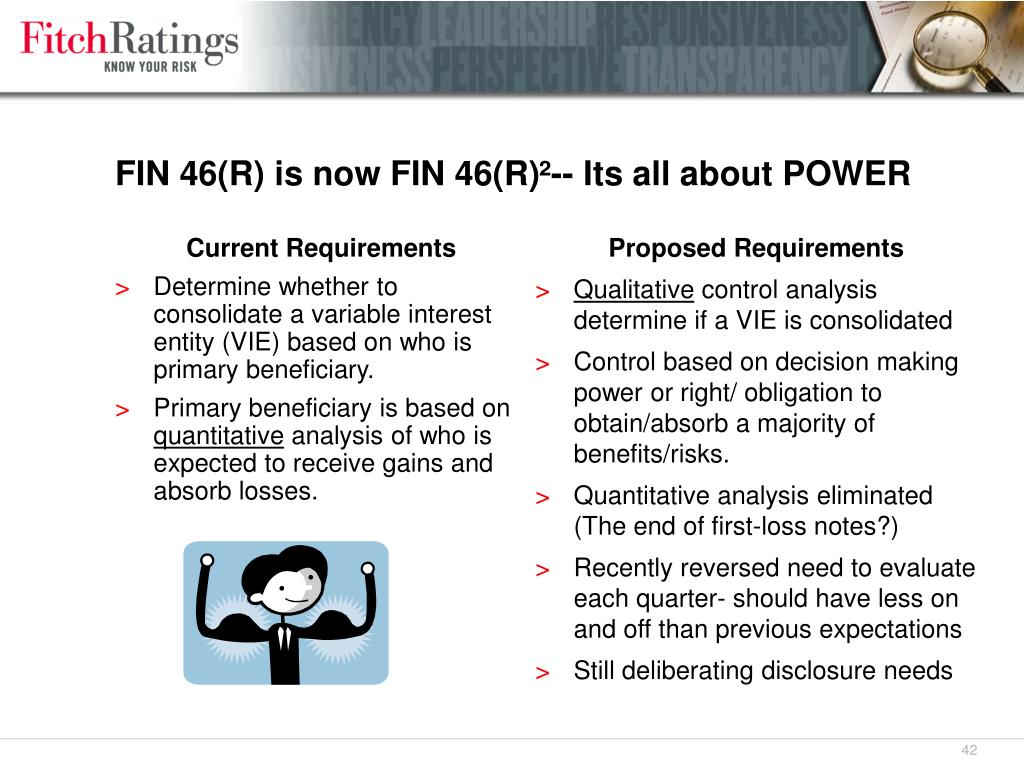 FIN 46(R) is now FIN 46(R)