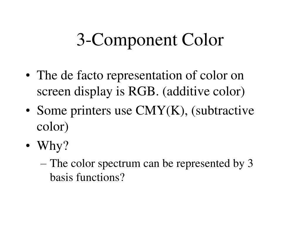 3-Component Color