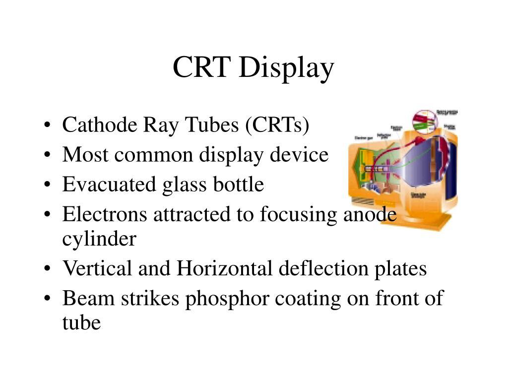 CRT Display