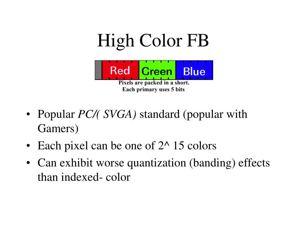 High Color FB
