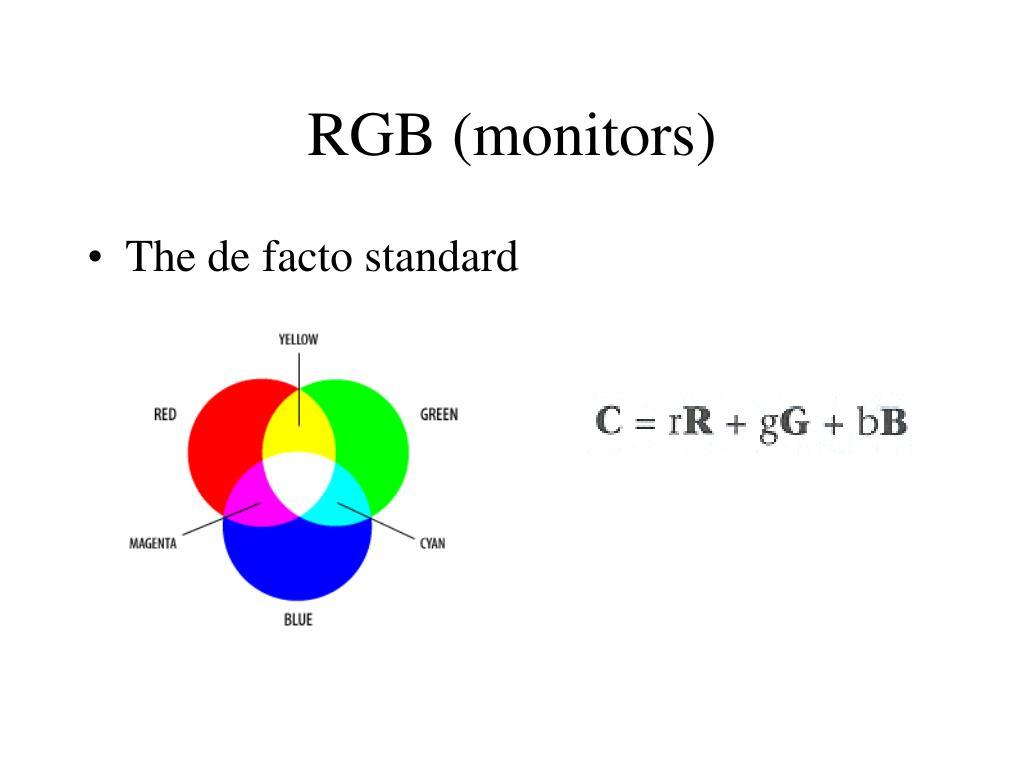 RGB (monitors)