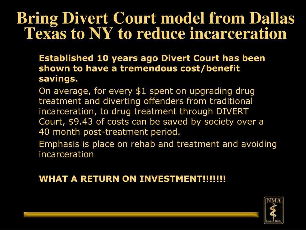 Bring Divert Court model from Dallas