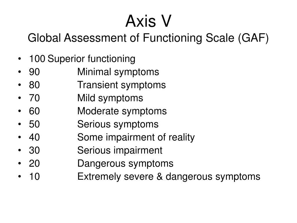 Axis V