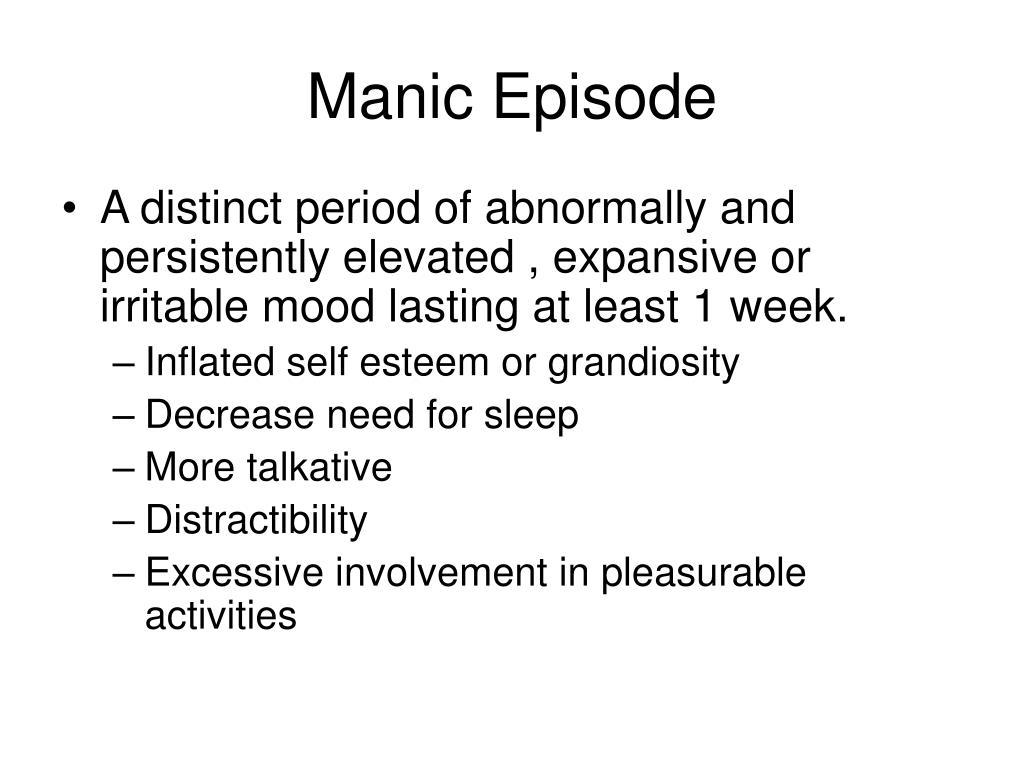 Manic Episode