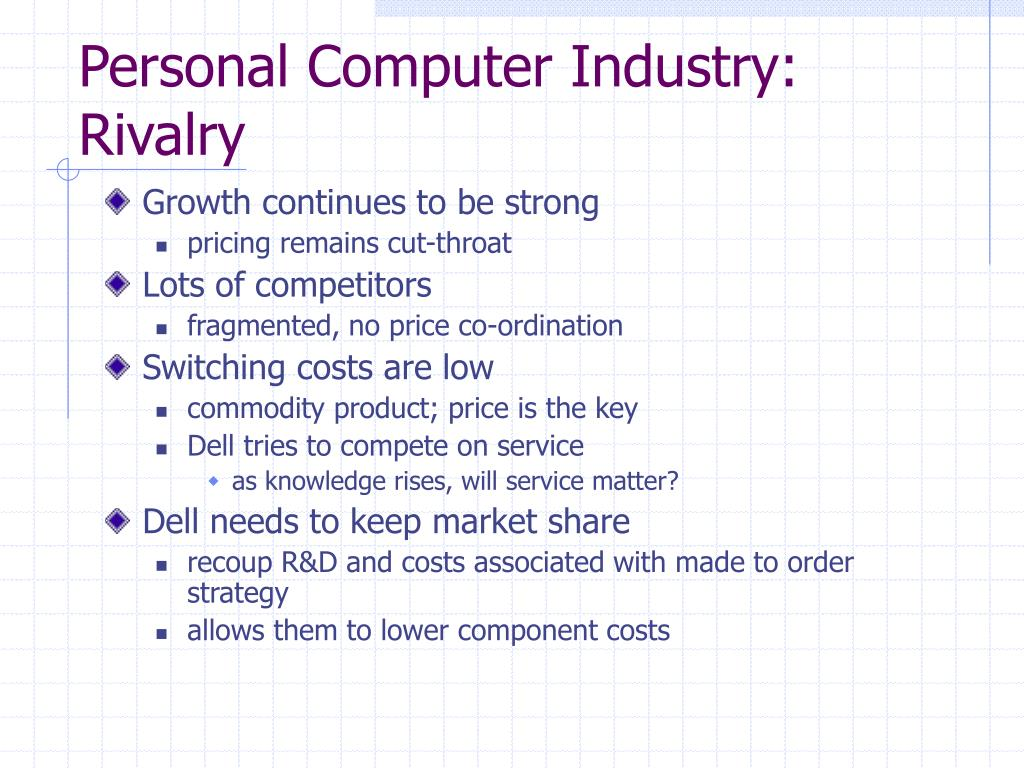 Personal Computer Industry: Rivalry