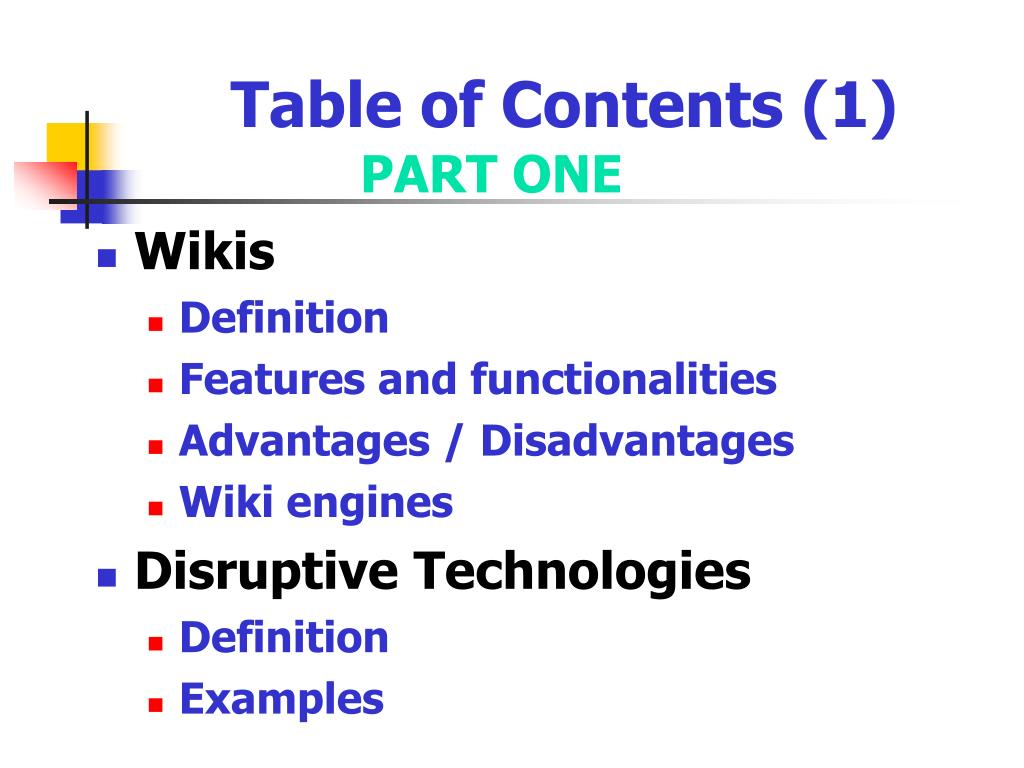 Table of Contents (1)