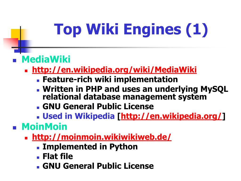 Top Wiki Engines (1)