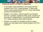 patterns in epa osri evaluations15