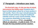 1 st paragraph introduce your topic6