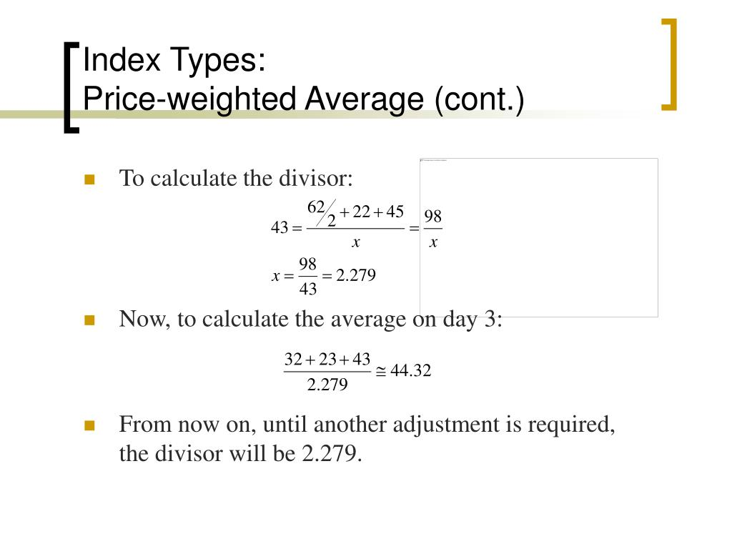Index Types: