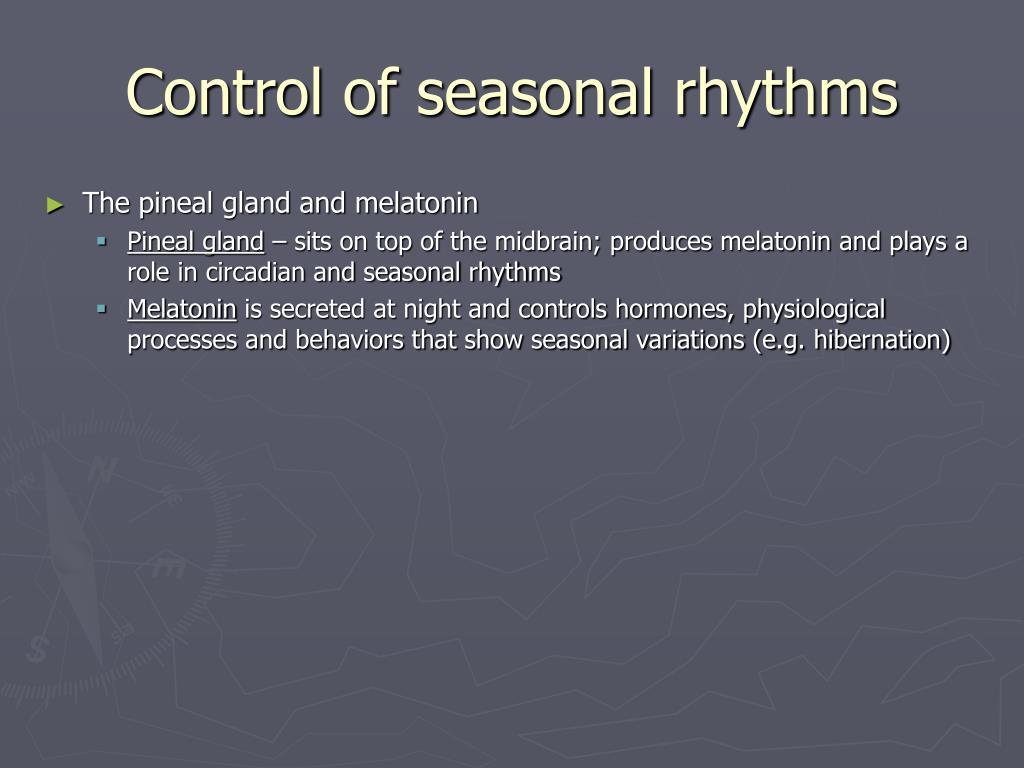 Control of seasonal rhythms
