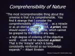comprehensibility of nature8