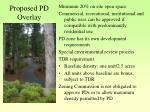 proposed pd overlay