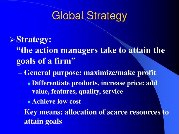 Global strategy2