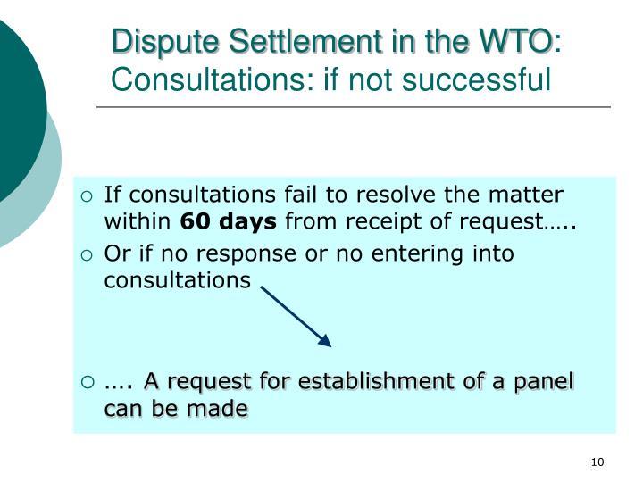 is wto dispute settlement effective The effectiveness of wto dispute settlement: an evaluation of negotiation versus adjudication strategies christina l davis princeton university.