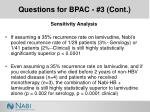 questions for bpac 3 cont