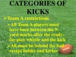 categories of kicks10