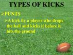 types of kicks4